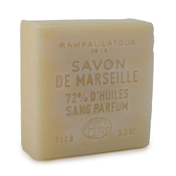 สบู่ต้นตำรับฝรั่งเศส มาร์เซย์ marseille soap 72% 150 กรัม