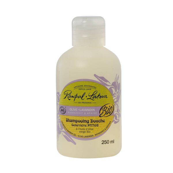organic lavender shower gel shampoo rampal latour made in france
